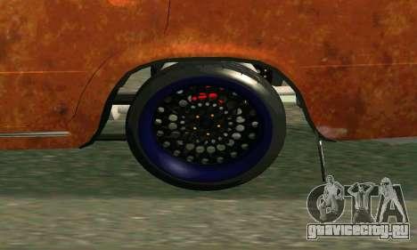 ВАЗ 2101 Rat-look для GTA San Andreas вид справа