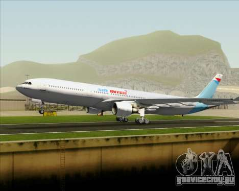 Airbus A330-300 Air Inter для GTA San Andreas двигатель