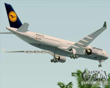 Airbus A330-300 Lufthansa для GTA San Andreas