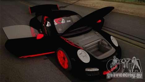 Porsche 911 GT3RSR для GTA San Andreas вид изнутри
