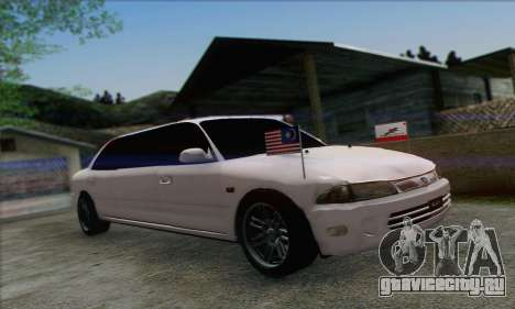 Proton Wira Official Malaysian Limousine для GTA San Andreas