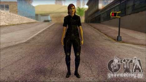 Mass Effect Anna Skin v4 для GTA San Andreas