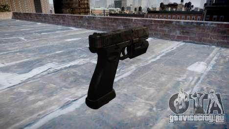Пистолет Glock 20 kryptek typhon для GTA 4 второй скриншот