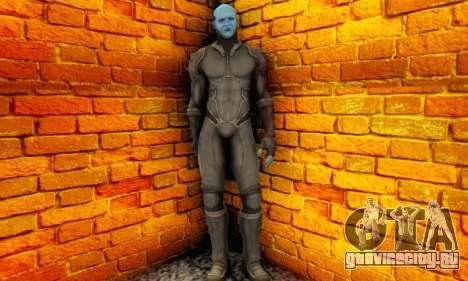 Skin Electro From The Amazing Spider Man 2 для GTA San Andreas третий скриншот