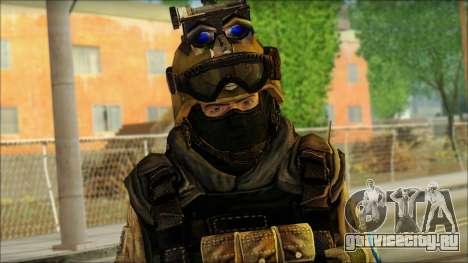 Солдат ЕС (AVA) v6 для GTA San Andreas третий скриншот