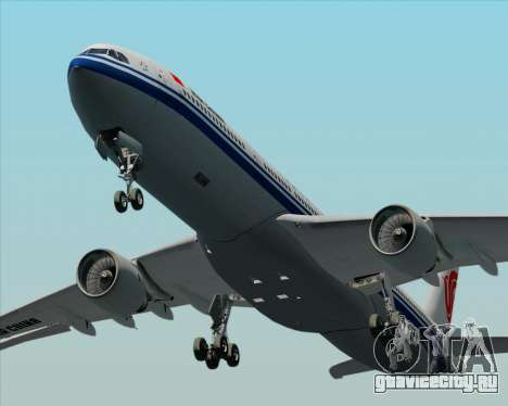 Airbus A330-300 Air China для GTA San Andreas вид сверху