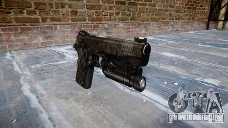 Пистолет Kimber 1911 Kryptek Typhon для GTA 4
