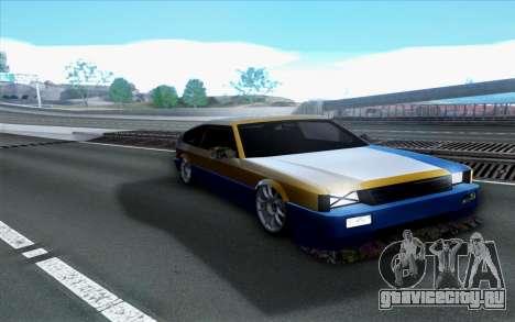Blista By Next для GTA San Andreas вид справа