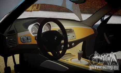 BMW Z4M для GTA 4 вид справа