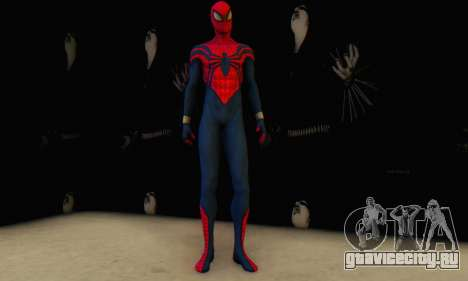 Skin The Amazing Spider Man 2 - Suit Ben Reily для GTA San Andreas третий скриншот