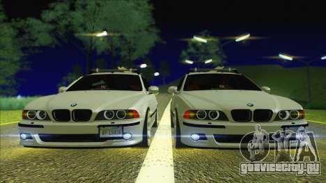 BMW M5 E39 2003 Stance для GTA San Andreas вид справа