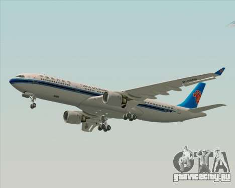 Airbus A330-300 China Southern Airlines для GTA San Andreas вид изнутри