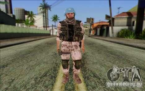 Чешский Миротворец для GTA San Andreas
