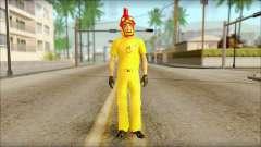 Новый торговец в Cluckin Bell для GTA San Andreas