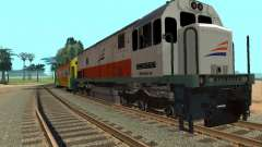 GE U18C CC 201 Indonesian Locomotive