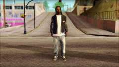 New Grove Street Family Skin v6 для GTA San Andreas
