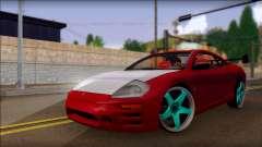 Mitsubishi Eclipse GTS Tuning для GTA San Andreas
