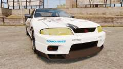 Nissan Skyline R33 1995 Infinite Stratos для GTA 4