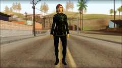Mass Effect Anna Skin v1 для GTA San Andreas