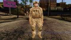 Британский солдат (ArmA II: BAF) v2