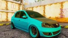 Dacia Logan Pearl Blue для GTA San Andreas