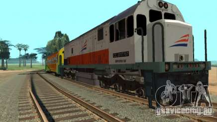 GE U18C CC 201 Indonesian Locomotive для GTA San Andreas