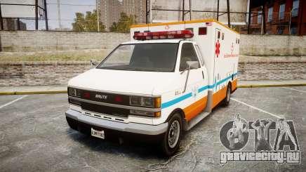 GTA V Brute Ambulance [ELS] для GTA 4