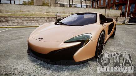 McLaren 650S Spider 2014 [EPM] Pirelli v1 для GTA 4