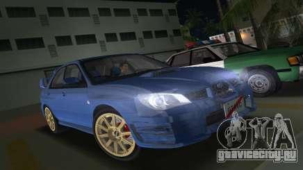 Subaru Impreza WRX STI 2006 Type 1 для GTA Vice City