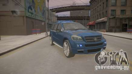 Mercedes-Benz GL450 AMG Police Interceptor 2013 для GTA 4