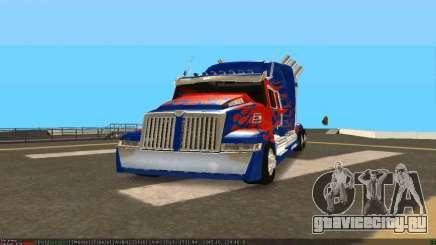 Peterbilt 379 Optimus Prime для GTA San Andreas