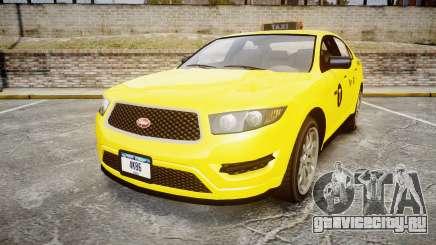 GTA V Vapid Taurus Taxi NYC для GTA 4