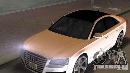 Audi A8 2010 W12 Rim3 для GTA Vice City
