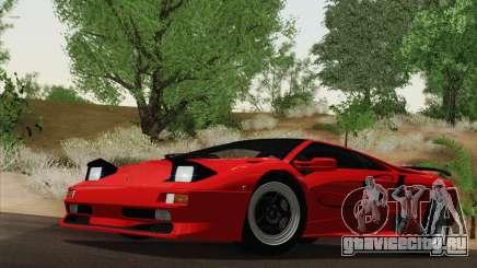 Lamborghini Diablo SV 1995 (HQLM) для GTA San Andreas