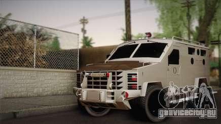 FBI Armored Vehicle v1.2 для GTA San Andreas
