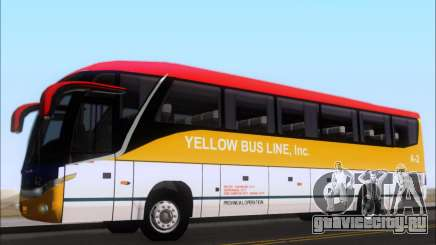 Marcopolo Paradiso G7 1050 Yellow Bus Line A-2 для GTA San Andreas
