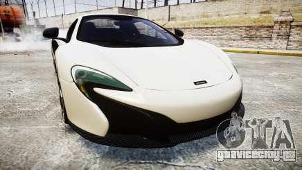 McLaren 650S Spider 2014 [EPM] BFGoodrich для GTA 4