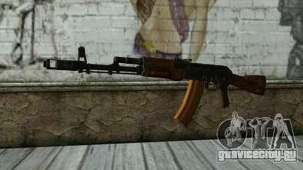 TheCrazyGamer AK74 для GTA San Andreas
