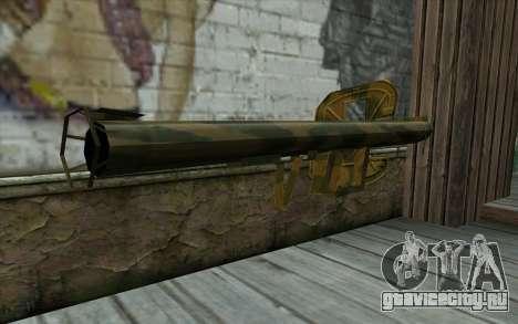Panzerschreсk from Day of Defeat для GTA San Andreas второй скриншот