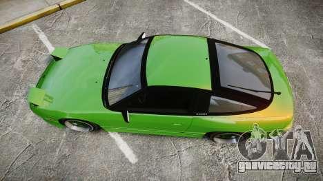 Nissan 240SX S13 Tuned для GTA 4 вид справа