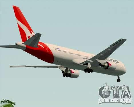 Boeing 767-300ER Qantas (New Colors) для GTA San Andreas вид справа