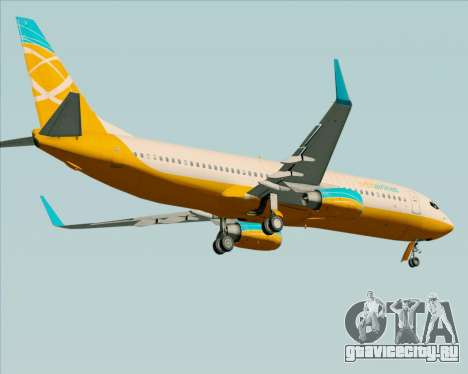 Boeing 737-800 Orbit Airlines для GTA San Andreas вид снизу