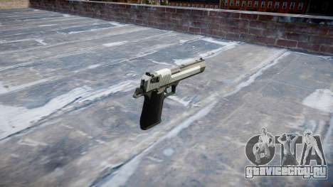 Пистолет IMI Desert Eagle Mk XIX Two-tone для GTA 4 второй скриншот
