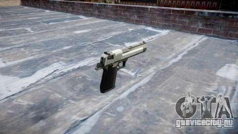 Пистолет IMI Desert Eagle Mk XIX Two-tone для GTA 4 второй скриншот