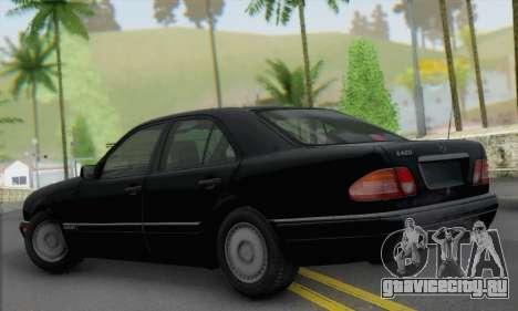 Mercedes-Benz E420 W210 для GTA San Andreas вид слева