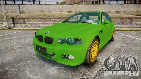 BMW M3 E46 2001 Tuned Wheel Gold для GTA 4
