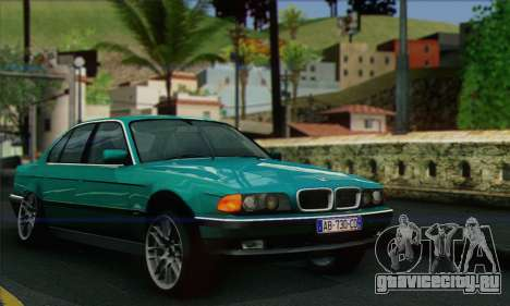 BMW 7-series для GTA San Andreas