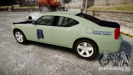 Dodge Charger 2010 Alabama State Troopers [ELS] для GTA 4 вид слева