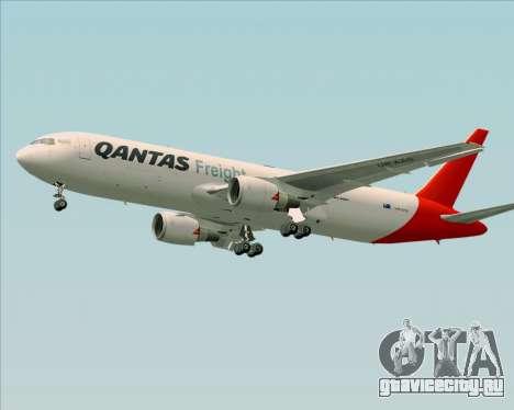Boeing 767-300F Qantas Freight для GTA San Andreas двигатель