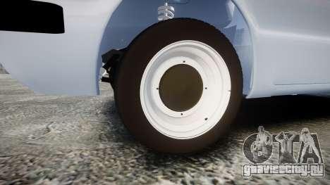 ЗАЗ-968 для GTA 4 вид сзади